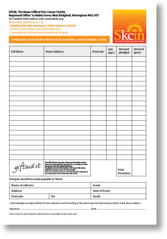cancer research paper sponsor form Our foundation was created on the principle that 100% of gross fundraising  dollars goes directly to breast cancer research our sponsors make.